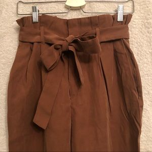 H&M Paper bag pants